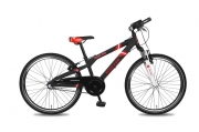 Jongensfiets 20 inch - Bike Fun Crash Bike N3 zwart