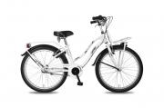 Meisjesfiets 20 inch - Bike Fun Crazy Cruiser wit