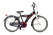 Jongensfiets 20 inch - Bike Fun Jump 4 Fun zwart-rood